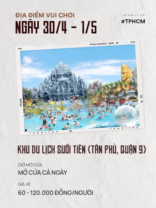 Nghỉ lễ 30/4: Giá vé vào cửa của 7 địa điểm vui chơi ở Hà Nội và Sài Gòn, có nơi còn miễn phí - Ảnh 5.