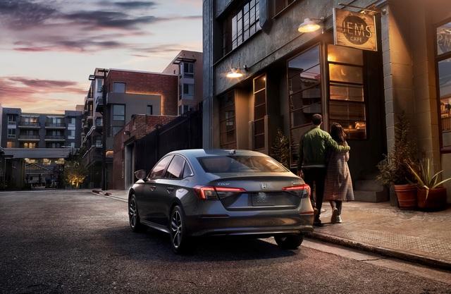 Honda Civic 2022 trình làng: Thiết kế mới từ trong ra ngoài, cải thiện cảm giác lái - Ảnh 6.