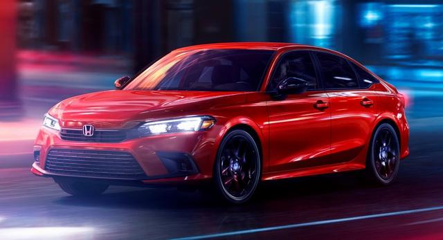 Honda Civic 2022 trình làng: Thiết kế mới từ trong ra ngoài, cải thiện cảm giác lái - Ảnh 1.