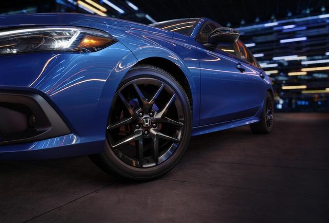 Honda Civic 2022 trình làng: Thiết kế mới từ trong ra ngoài, cải thiện cảm giác lái - Ảnh 7.
