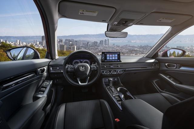 Honda Civic 2022 trình làng: Thiết kế mới từ trong ra ngoài, cải thiện cảm giác lái - Ảnh 3.