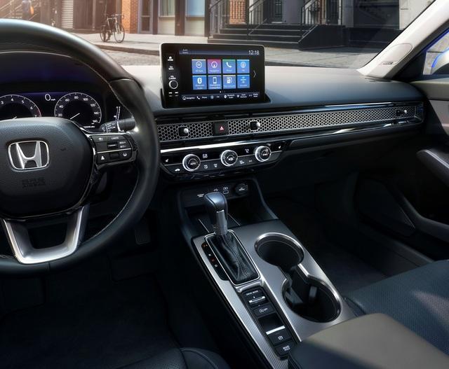 Honda Civic 2022 trình làng: Thiết kế mới từ trong ra ngoài, cải thiện cảm giác lái - Ảnh 4.