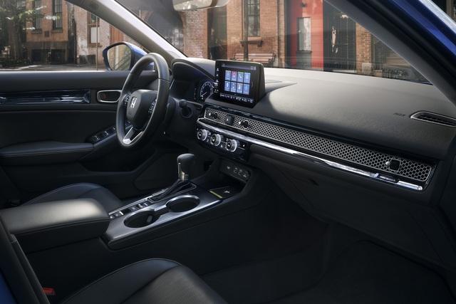 Honda Civic 2022 trình làng: Thiết kế mới từ trong ra ngoài, cải thiện cảm giác lái - Ảnh 8.