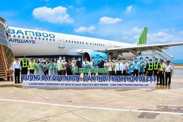 Bình Định có thêm 3 đường bay tới Cần Thơ, Lâm Đồng và Thanh Hóa  - Ảnh 1.