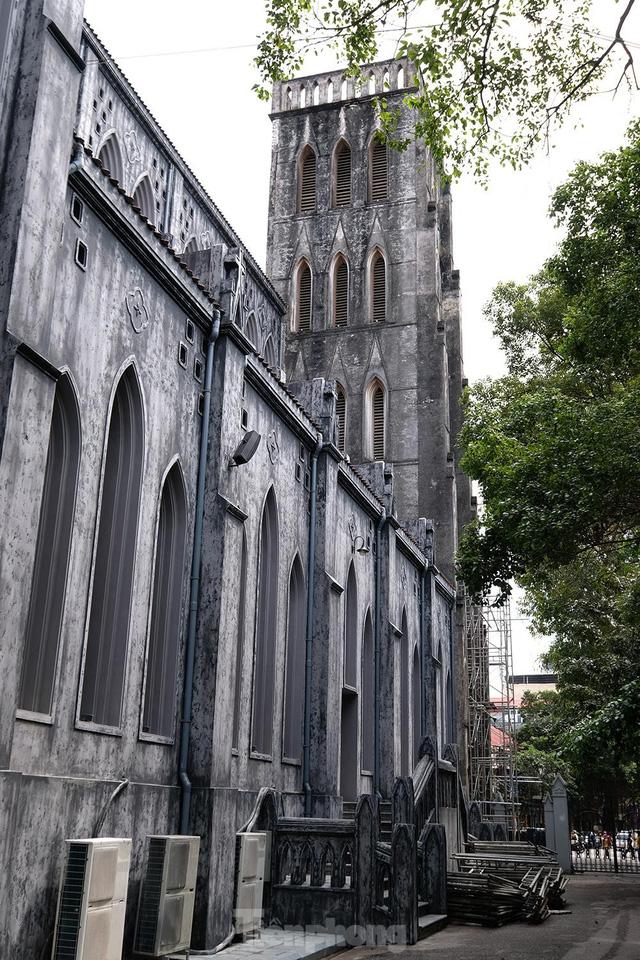 Nhà thờ Lớn Hà Nội trước ngày khoác áo mới  - Ảnh 8.