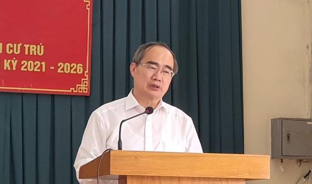 100% cử tri tín nhiệm ông Nguyễn Thiện Nhân ứng cử đại biểu Quốc hội  - Ảnh 1.