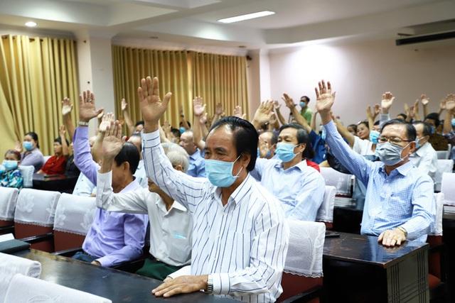 100% cử tri nhất trí giới thiệu bà Tô Thị Bích Châu ứng cử ĐBQH và HĐND TP HCM  - Ảnh 2.