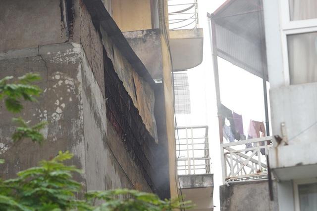 [ẢNH] Hiện trường vụ cháy cửa hàng bán đồ trẻ em khiến 4 người trong gia đình tử vong - Ảnh 8.