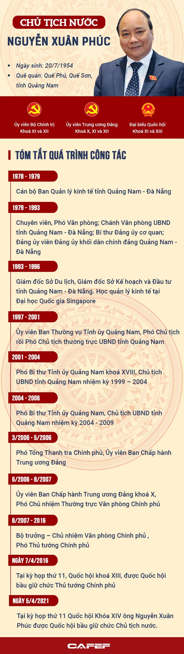Chân dung tân Chủ tịch nước Nguyễn Xuân Phúc - Ảnh 1.