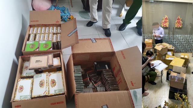 Phát hiện tiếp viên hàng không nhập lậu hơn 1 tạ xì gà về Hà Nội tiêu thụ  - Ảnh 1.
