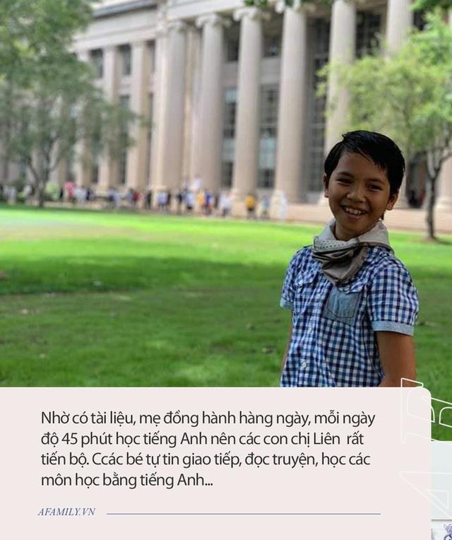 Bà mẹ ở Hà Nội dạy tiếng Anh cho con đạt IELTS 7.5 từ lớp 9: Trẻ học ngoại ngữ trong giai đoạn 5-10 tuổi là dễ nhất! - Ảnh 5.