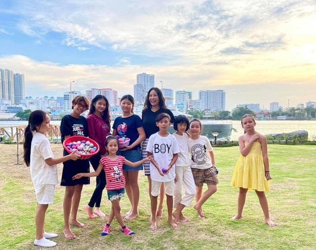 Hội Alpha Kid con nhà gia thế khủng showbiz Việt bé nào chân cũng dài miên man, tất cả là nhờ cha mẹ cho tập môn thể thao này - Ảnh 1.