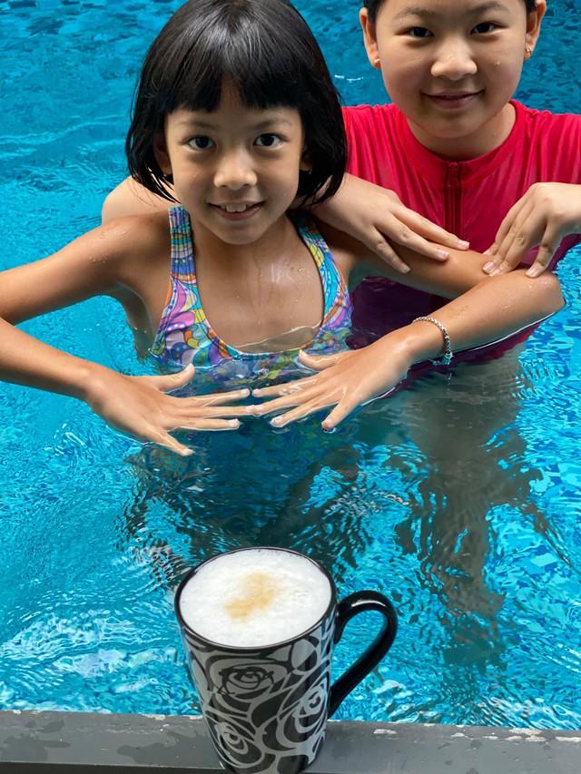 Hội Alpha Kid con nhà gia thế khủng showbiz Việt bé nào chân cũng dài miên man, tất cả là nhờ cha mẹ cho tập môn thể thao này - Ảnh 19.