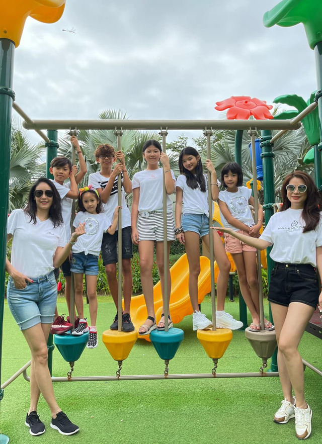 Hội Alpha Kid con nhà gia thế khủng showbiz Việt bé nào chân cũng dài miên man, tất cả là nhờ cha mẹ cho tập môn thể thao này - Ảnh 3.