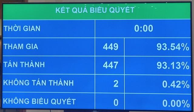 Quốc hội bầu bà Võ Thị Ánh Xuân giữ chức Phó Chủ tịch nước - Ảnh 1.