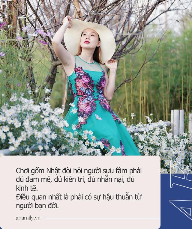 Thú chơi gốm của mẹ đảm Hà Nội: Đi săn lùng từng chiếc để ghép thành một bộ, có những bộ được trả giá hàng chục triệu - Ảnh 11.