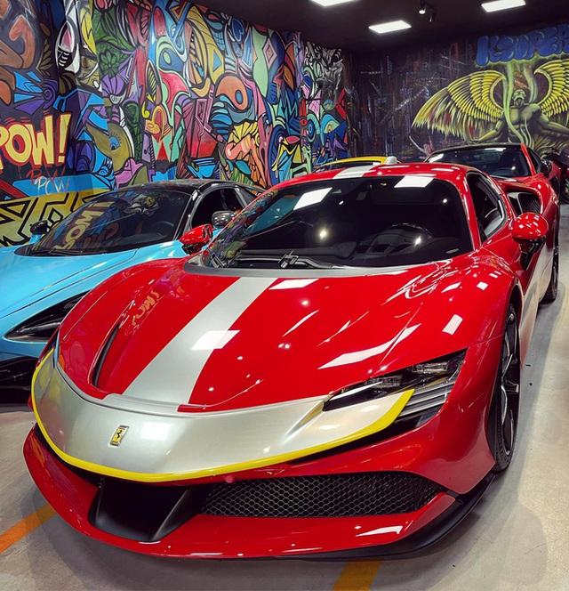 Ferrari SF90 Stradale của nữ đại gia 9X biến thành bản độc sau khi qua tay showroom, dân tình chờ đón siêu phẩm LaFerrari mới - Ảnh 1.