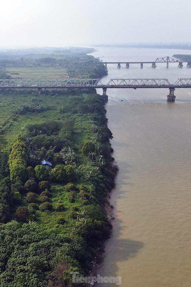 Cận cảnh những lô đất đắc địa nằm trong quy hoạch sông Hồng - Ảnh 3.