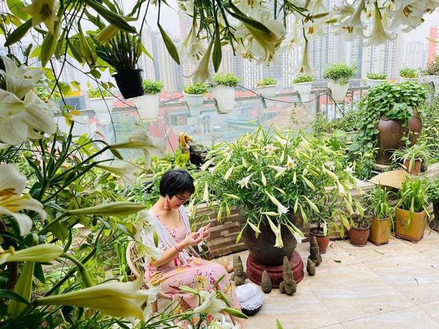 Hoa loa kèn vào mùa giá siêu rẻ, mãn nhãn khu vườn nghìn bông đua nở - Ảnh 4.