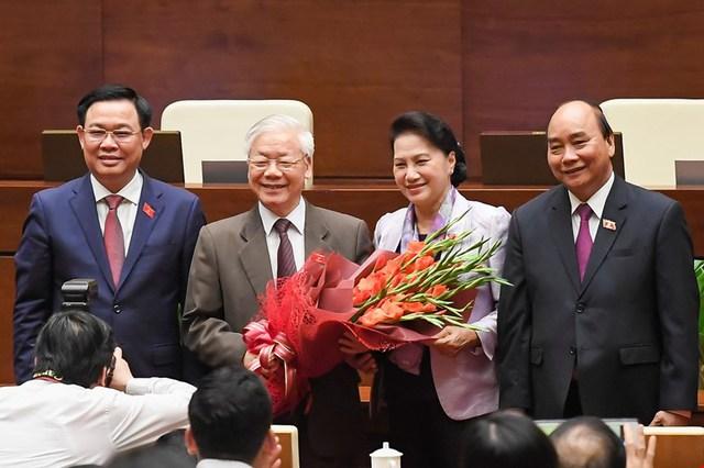 Đương kim Thủ tướng được bầu làm Chủ tịch nước và những điểm đặc biệt trong kỳ họp cuối cùng của Quốc hội khóa XIV - Ảnh 10.