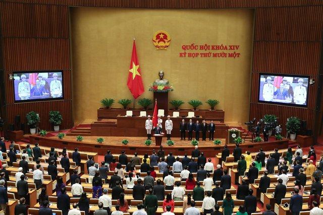 Đương kim Thủ tướng được bầu làm Chủ tịch nước và những điểm đặc biệt trong kỳ họp cuối cùng của Quốc hội khóa XIV - Ảnh 12.