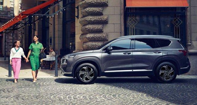 Hyundai Santa Fe 2021 cập bến Indonesia, chờ ngày về Việt Nam - Ảnh 4.