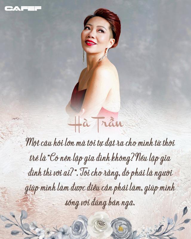 Diva Hà Trần: Tôi cũng cần tiền để nuôi quân chứ, nhưng không thể hát liên tục từ năm này sang năm khác mãi được - Ảnh 6.