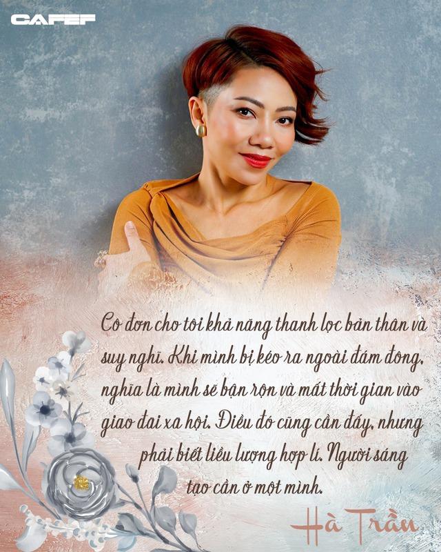 Diva Hà Trần: Tôi cũng cần tiền để nuôi quân chứ, nhưng không thể hát liên tục từ năm này sang năm khác mãi được - Ảnh 2.