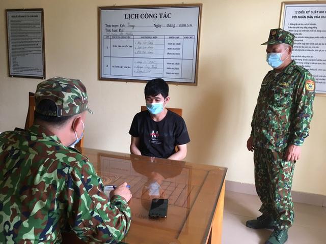 Bắt 2 người Trung Quốc nhập cảnh trái phép vào Việt Nam  - Ảnh 1.