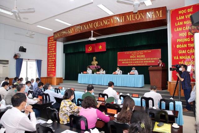 Chủ tịch nước Nguyễn Xuân Phúc mong muốn Hóc Môn sớm thành quận  - Ảnh 3.