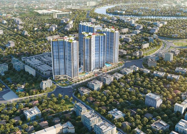 TCH khởi công dự án Hoàng Huy Commerce vốn đầu tư 5.000 tỷ đồng tại Hải Phòng - Ảnh 1.
