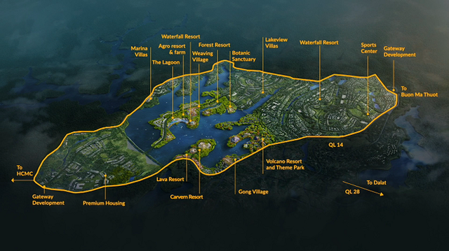 T&T Group muốn đầu tư siêu dự án 2 tỷ USD ở Đắk Nông - Ảnh 1.
