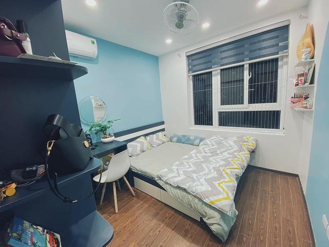 Làm gì để không gian căn chung cư nhỏ thoáng đãng mà vẫn đủ công năng cho gia đình có trẻ nhỏ? Cách bài trí của nhà thiết kế trẻ nhận mưa lời khen vì quá hợp lý - Ảnh 10.