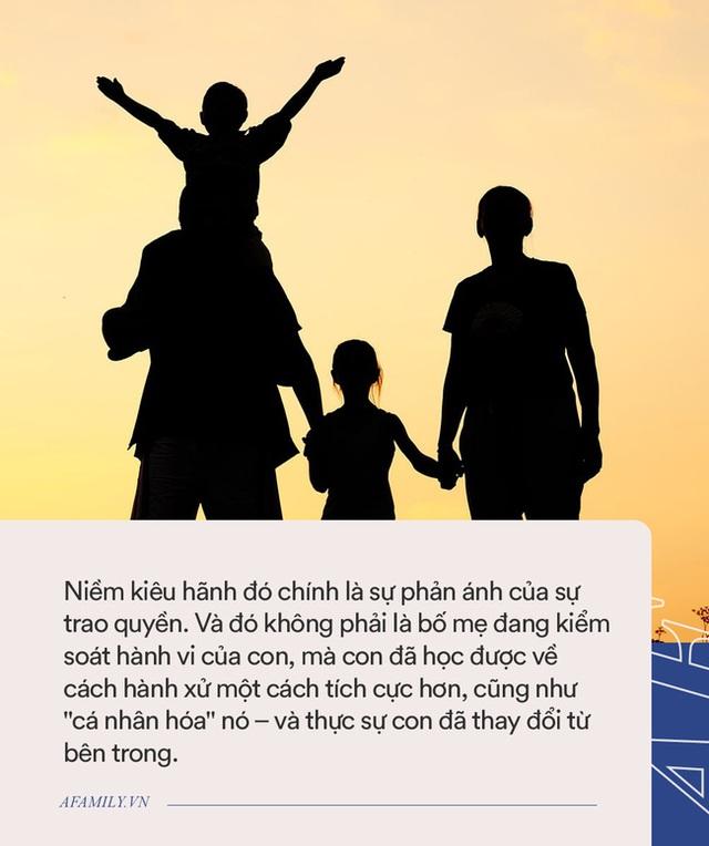 Một câu nói được coi như thần chú giúp bố mẹ thay đổi hành vi chưa tốt của con - Ảnh 2.
