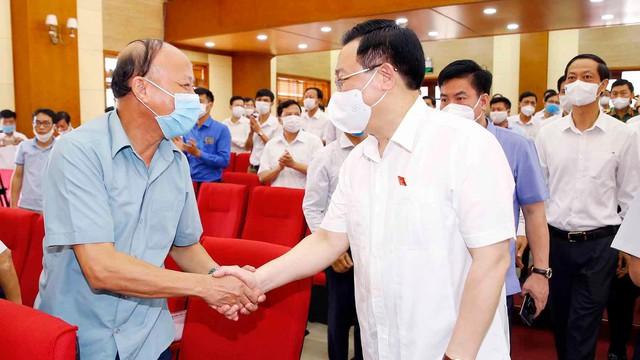 Chủ tịch Quốc hội Vương Đình Huệ: Không để nơi bầu cử thành nơi lây nhiễm dịch  - Ảnh 2.