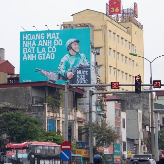 """Tặng mỗi quận một câu """"thơ"""", quảng cáo ngoài trời của Baemin khiến dân mạng cảm thán: Chơi vậy sao Grab, Gojek chơi lại! - Ảnh 4."""