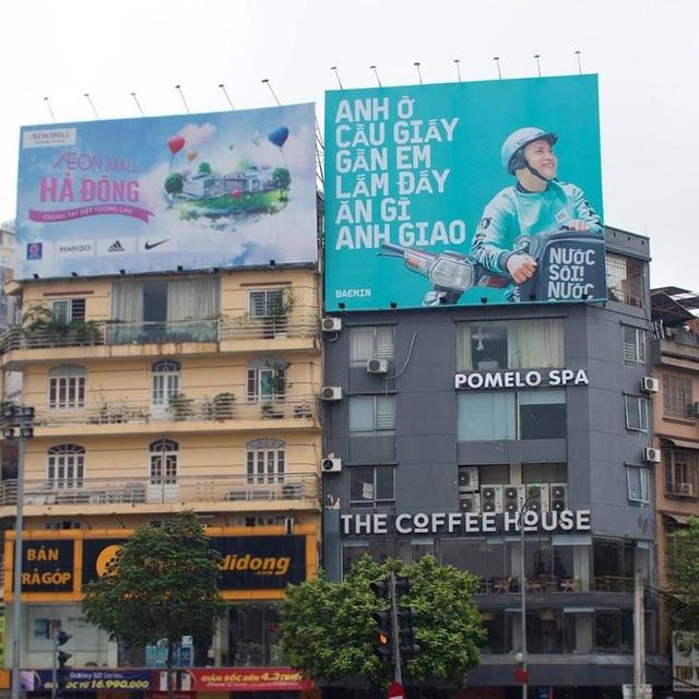 """Tặng mỗi quận một câu """"thơ"""", quảng cáo ngoài trời của Baemin khiến dân mạng cảm thán: Chơi vậy sao Grab, Gojek chơi lại! - Ảnh 5."""