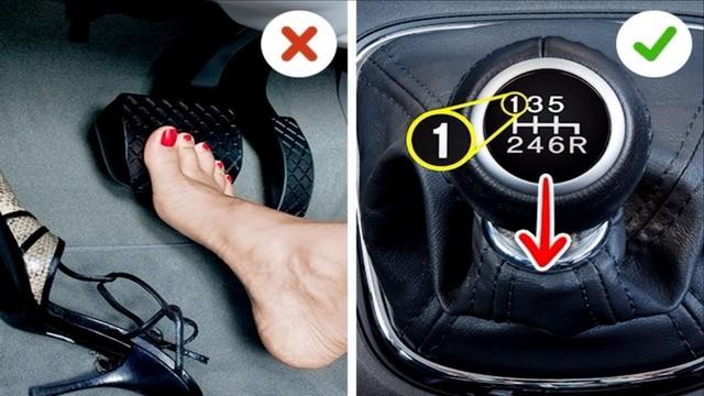 7 thói quen lái ô tô tai hại của chị em khiến xe nhanh hỏng - Ảnh 7.