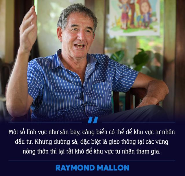 Cố vấn cao cấp của CIEM Raymond Mallon giải mã nguyên nhân Việt Nam khó để tư nhân dẫn dắt các dự án về giao thông - Ảnh 3.