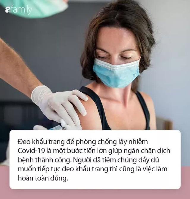 Chuyên gia nói gì trước thông tin người dân Mỹ không cần đeo khẩu trang khi đã tiêm phòng vaccine Covid-19 đầy đủ? - Ảnh 2.