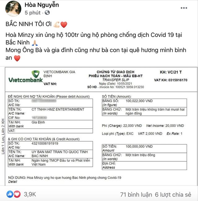 Hàng loạt nghệ sĩ Việt tham gia ủng hộ trong đợt dịch Covid-19 thứ tư: Đại Nghĩa kêu gọi hơn 1,2 tỷ VNĐ, NSƯT Xuân Bắc đến tận nơi cách ly tặng đồ - Ảnh 3.