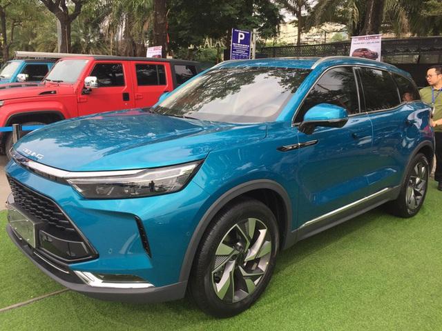 Nhiều mẫu xe gây sốt, ôtô Trung Quốc nhập về Việt Nam tăng phi mã 480% - Ảnh 1.