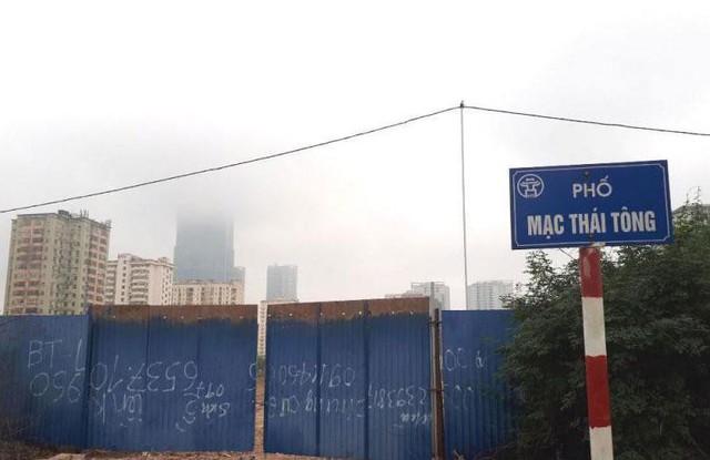 Xót xa dự án bỏ hoang hàng thập kỷ giữa Thủ đô  - Ảnh 3.