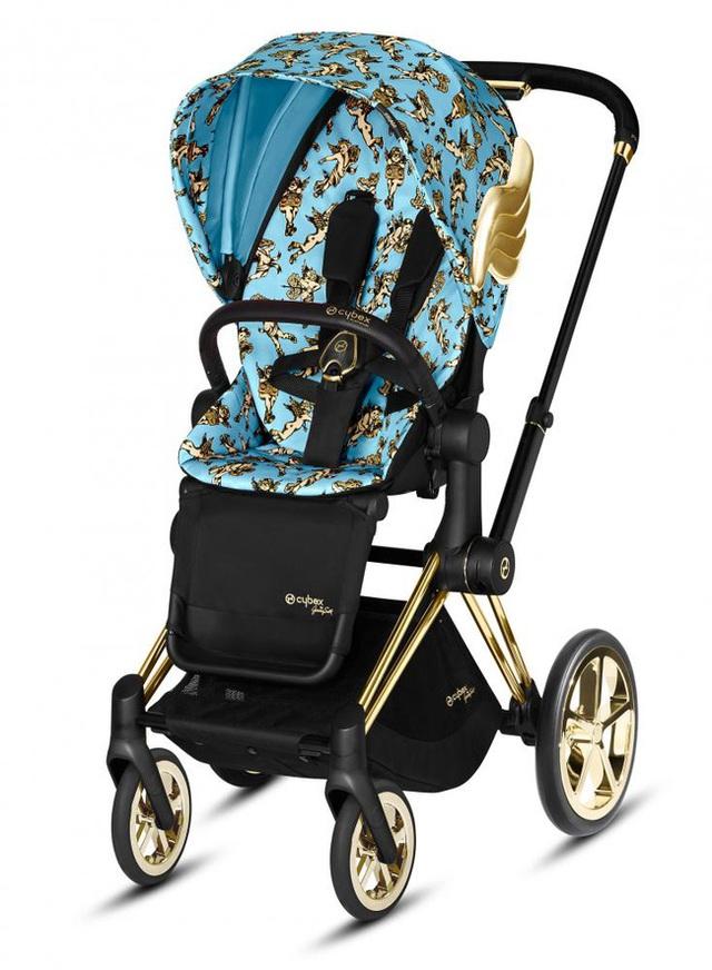 Xe đẩy Cybex cánh vàng: Siêu phẩm dành cho những em bé sướng từ trong nôi, được đích thân Giám đốc sáng tạo của Moschino thiết kế  - Ảnh 3.