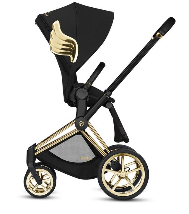Xe đẩy Cybex cánh vàng: Siêu phẩm dành cho những em bé sướng từ trong nôi, được đích thân Giám đốc sáng tạo của Moschino thiết kế  - Ảnh 7.