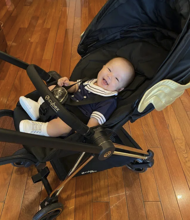Xe đẩy Cybex cánh vàng: Siêu phẩm dành cho những em bé sướng từ trong nôi, được đích thân Giám đốc sáng tạo của Moschino thiết kế  - Ảnh 10.
