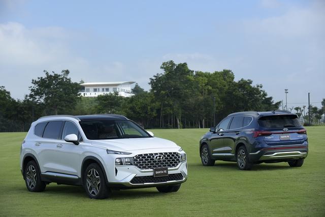 Hyundai Santa Fe 2021 chính thức ra mắt tại Việt Nam, giá từ 1,03 đến 1,34 tỷ đồng - Ảnh 2.