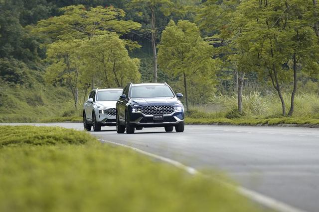Hyundai Santa Fe 2021 chính thức ra mắt tại Việt Nam, giá từ 1,03 đến 1,34 tỷ đồng - Ảnh 13.