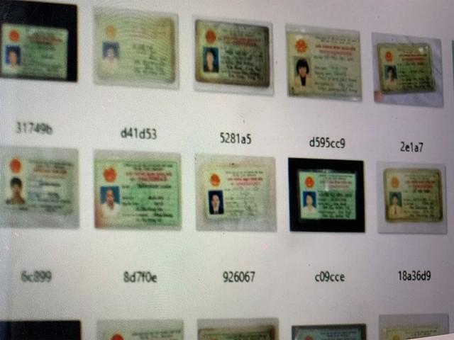 Bộ Công an điều tra vụ gần 10.000 CMND, CCCD người Việt bị rao bán trên mạng - Ảnh 1.