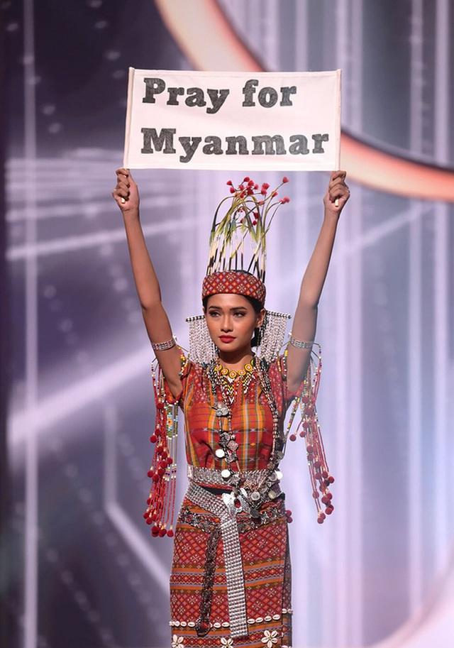 Loạt giải thưởng đáng chú ý của Miss Universe 2020: Myanmar gây xúc động, Khánh Vân dù dừng chân ở Top 21 vẫn tạo ra kỷ lục - Ảnh 2.